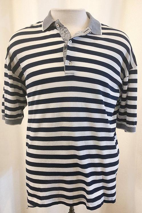 Vintage Striped Bobby Jones Polo Shirt