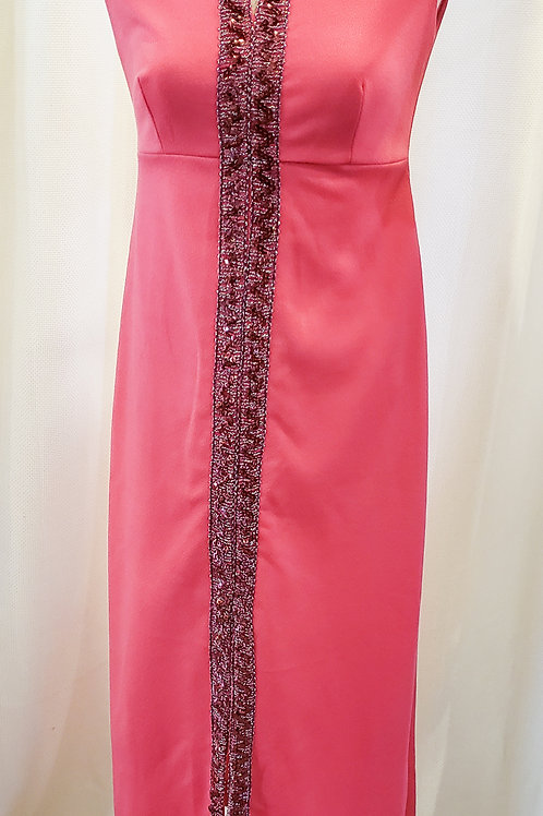 Vintage Pink Sleeveless Dress