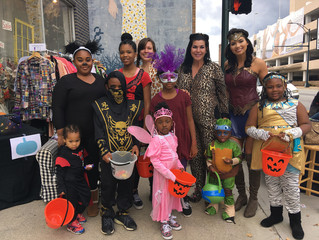 Downtown Greensboro Businesses Host Trick-Or-Treating For The Community