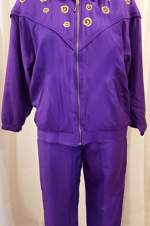 Vintage Purple EVR Two-Piece Set