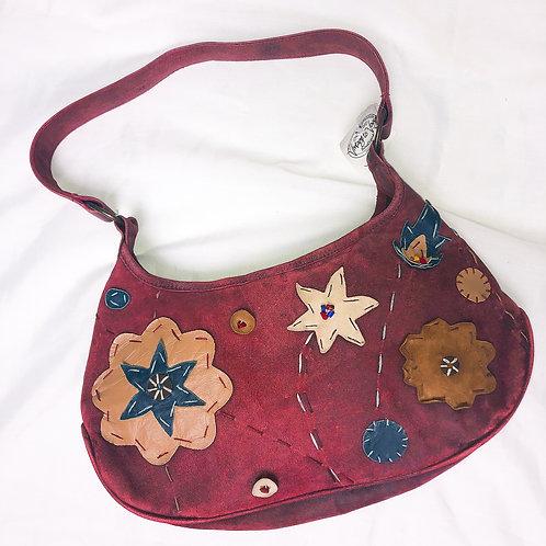 Vintage Floral Patchwork Purse