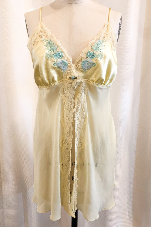 Vintage Yellow Negligee