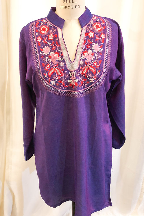 Vintage 3/4 Sleeve KN Collections Tunic