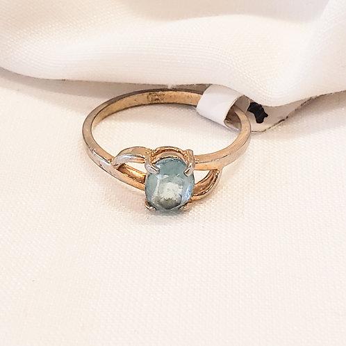 Vintage Blue Gem Ring
