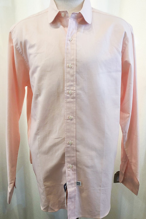 Vintage Pink Polo Button Down Top