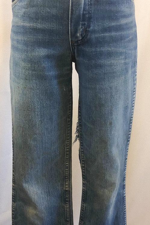 Vintage Lightwashed Wrangler Jeans