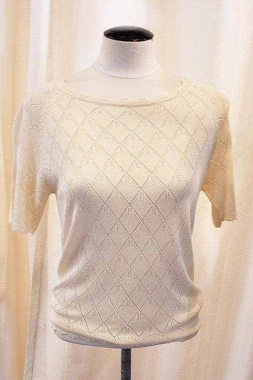 Vintage-Inspired Cream Sweater