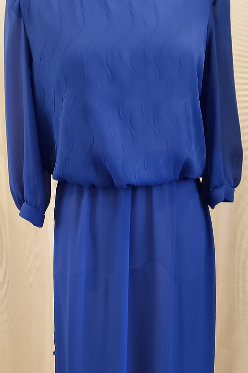 Vintage Blue Lady Carol Dress
