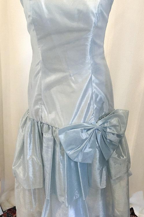 Vintage Blue Superstition Formal Dress