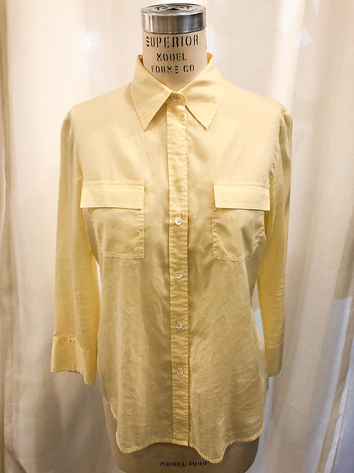Vintage Yellow Theory Blouse