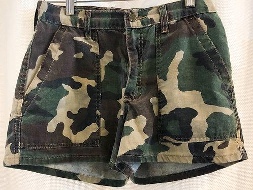Vintage Camouflage Mudd Shorts