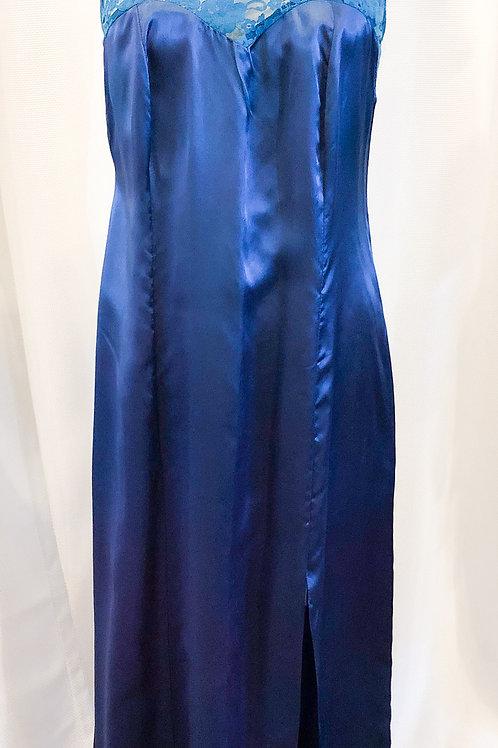 Vintage Teal Catherine Walley Nightgown