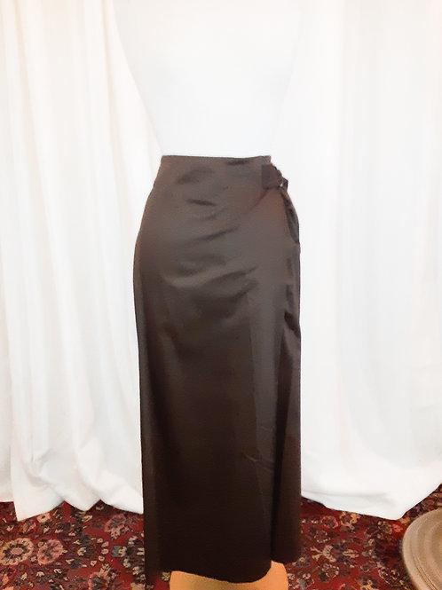 Vintage Brown Lafayette 148 Skirt