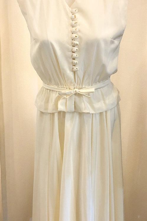 Vintage Cream Two-Piece Suit