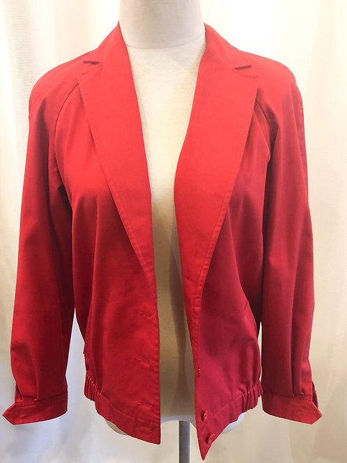 Vintage Red Montaldo's Jacket