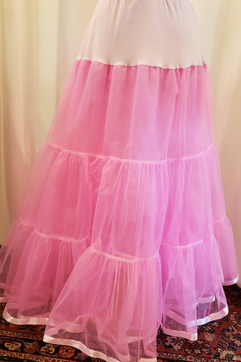Vintage-Inspired Pink Petticoat
