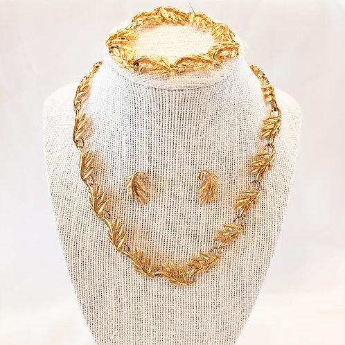 Vintage Gold Napier 3-Piece Set