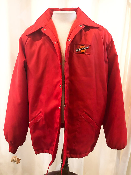 Vintage Red Swingster Jacket
