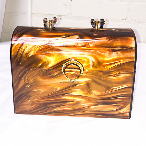 Vintage Lucite Box Purse