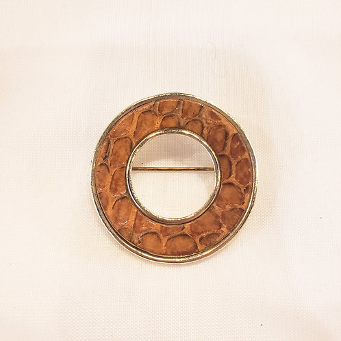 Vintage Animal Print Brooch