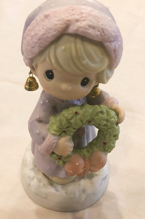 Vintage Precious Moments Christmas Figurine