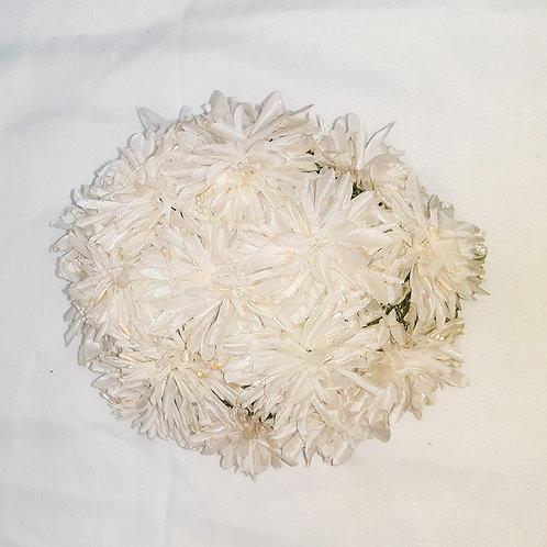 Vintage White Floral Hat