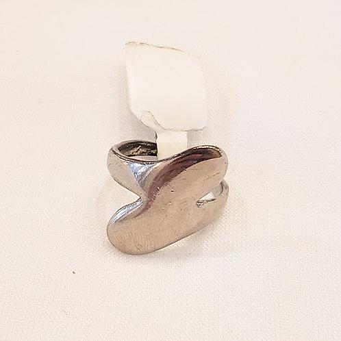 Vintage Silver Swirl Ring