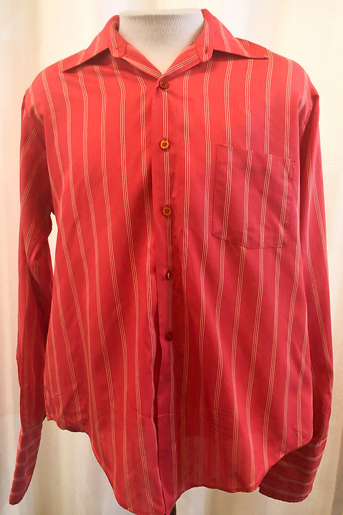 Vintage Striped Hampshire House by Van Heusen Button Down