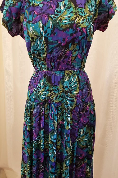 Vintage Tropical Luci Fellini Dress