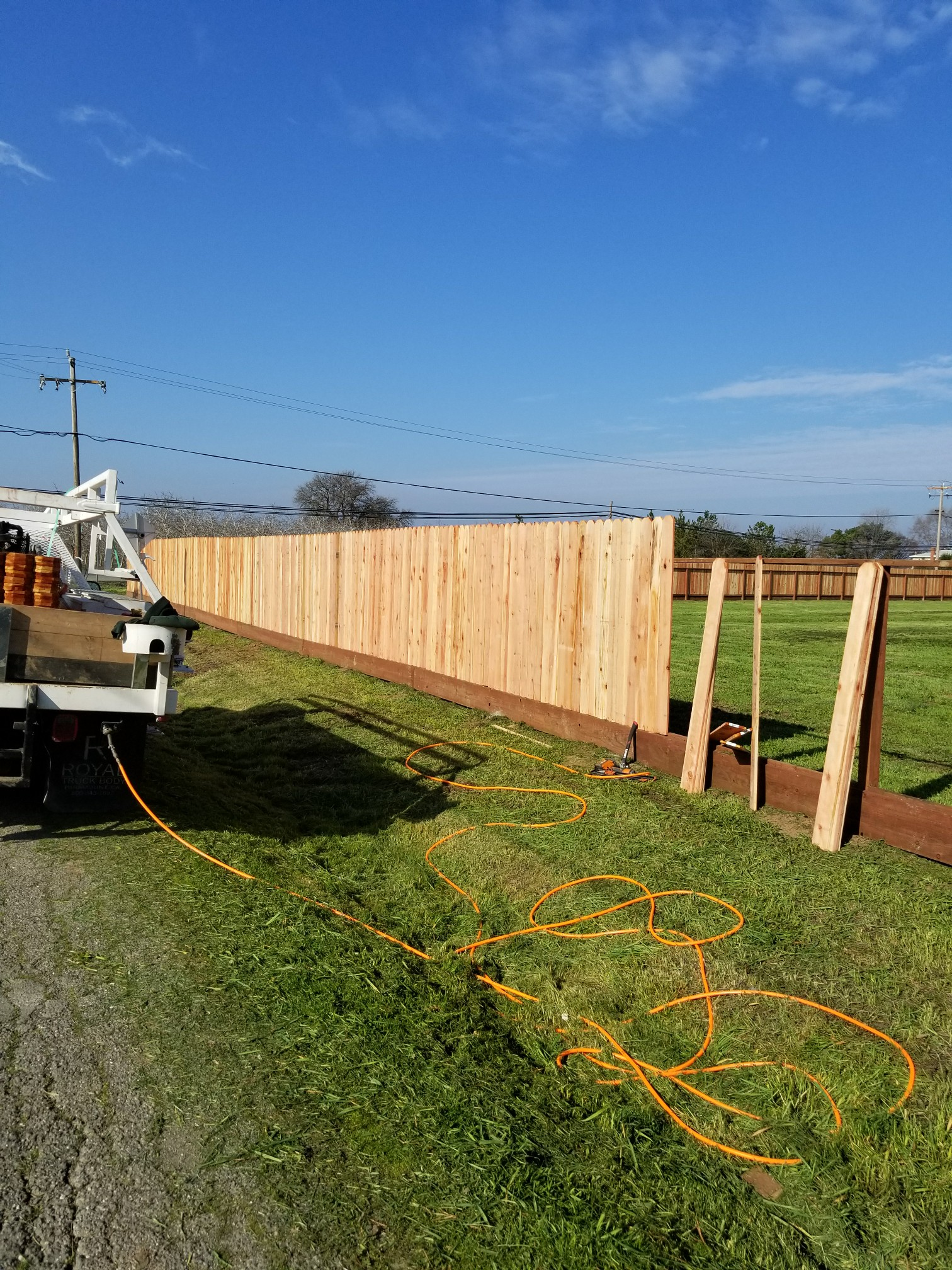 Fence Build