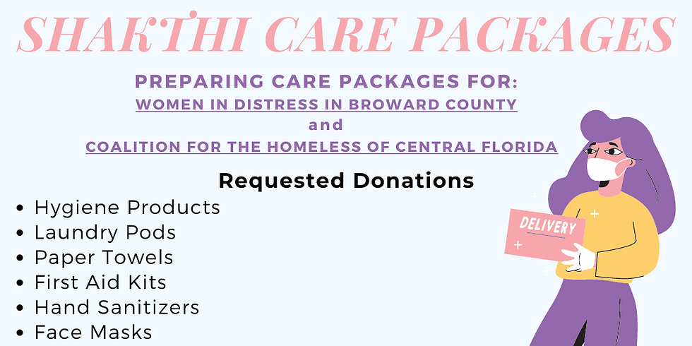 Shakthi Care Package Drive