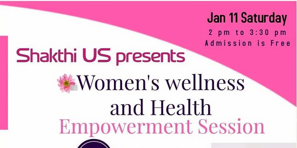 Empowerment Session: Women's Health and Wellness