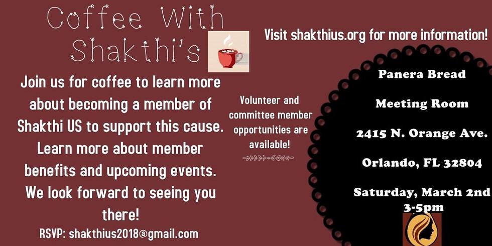 Coffee with Shakthi