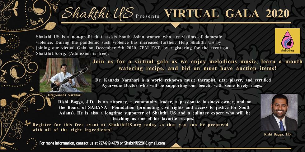 Shakthi Virtual Gala 2020