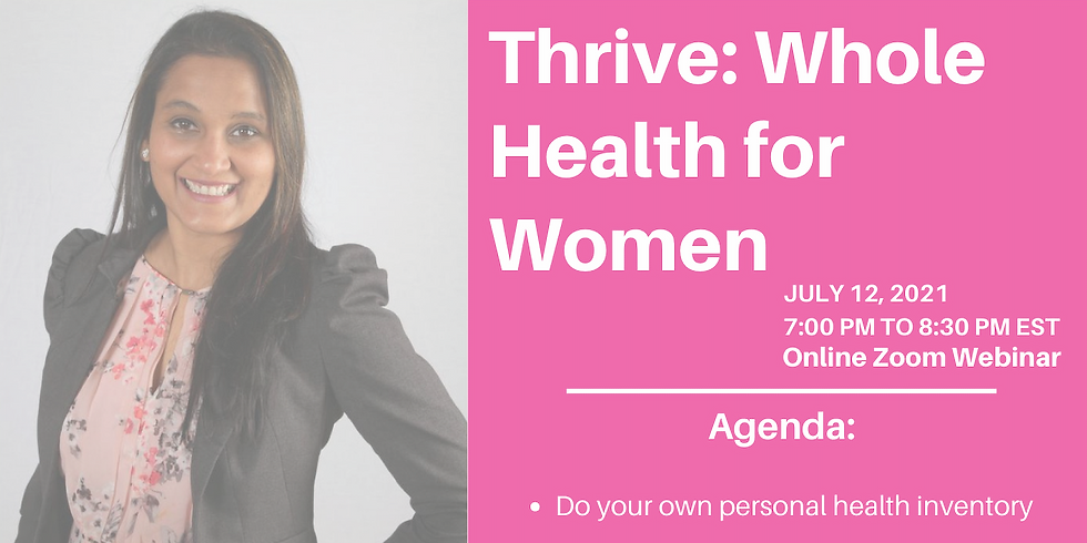 Thrive: Whole Health for Women