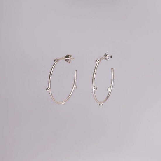 Silver Cateria Earrings (Pre-order)