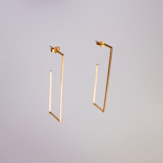 24kt Gold Vermeil Quadra Earrings (Pre-order)