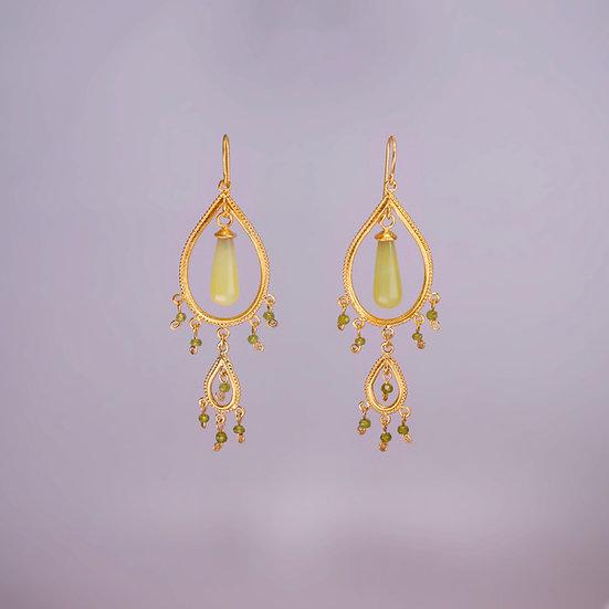 24kt Gold Vermeil Veronica Earrings