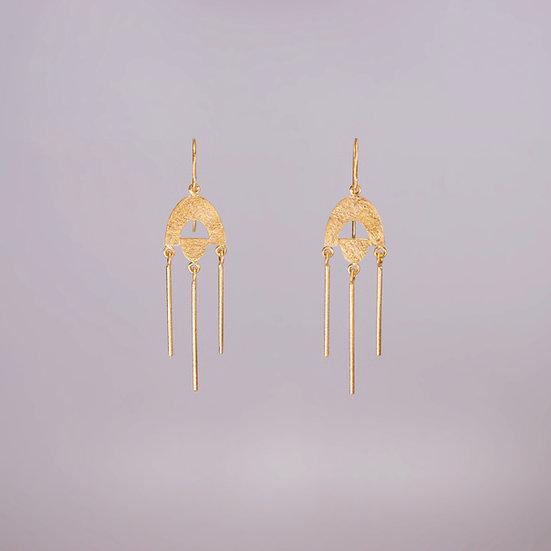 24kt Gold Vermeil Casia Earrings (Pre-order)