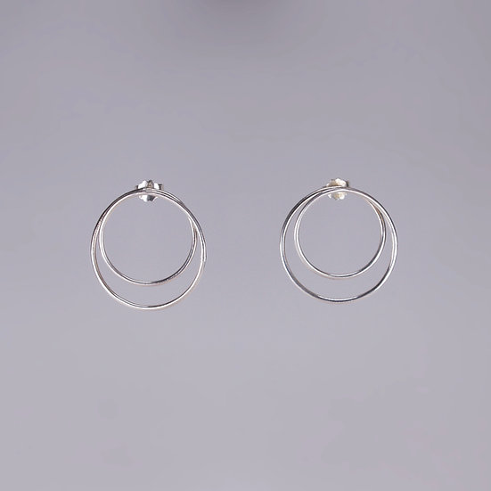 Silver Infinity Earrings (Pre-order)