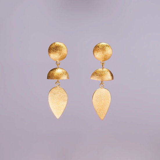 24kt Gold Vermeil Hortensia Earrings (Pre-order)