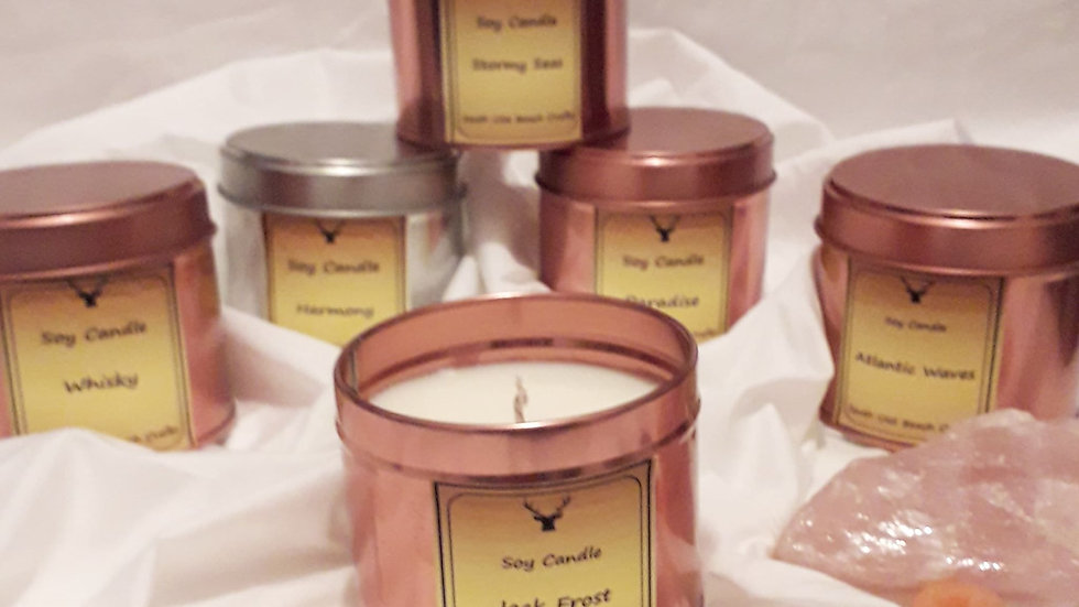 Gorgeous candle tins   SOLD OUT