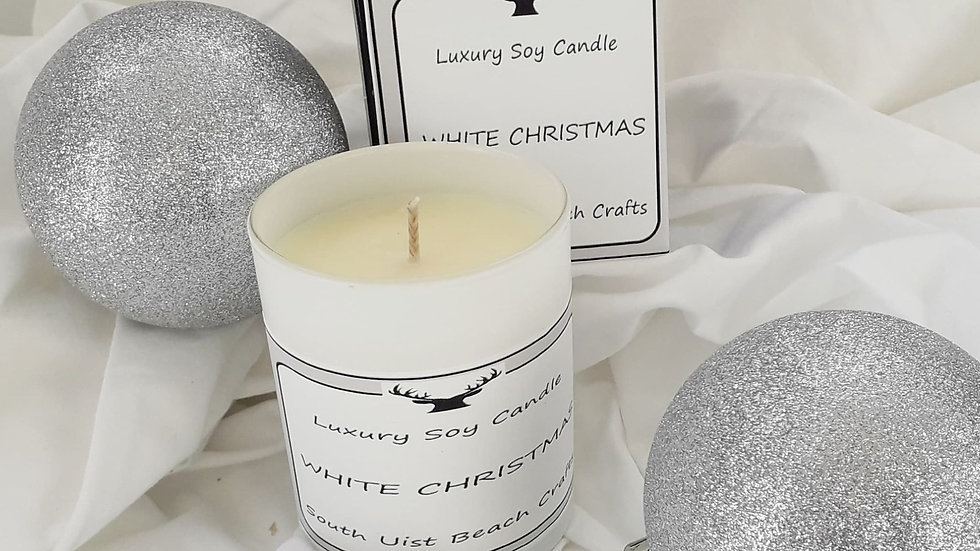 Christmas candle   ; only 1 left