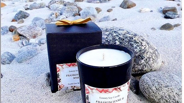 Frankincense and Myrrh Candle   SOLD OUT