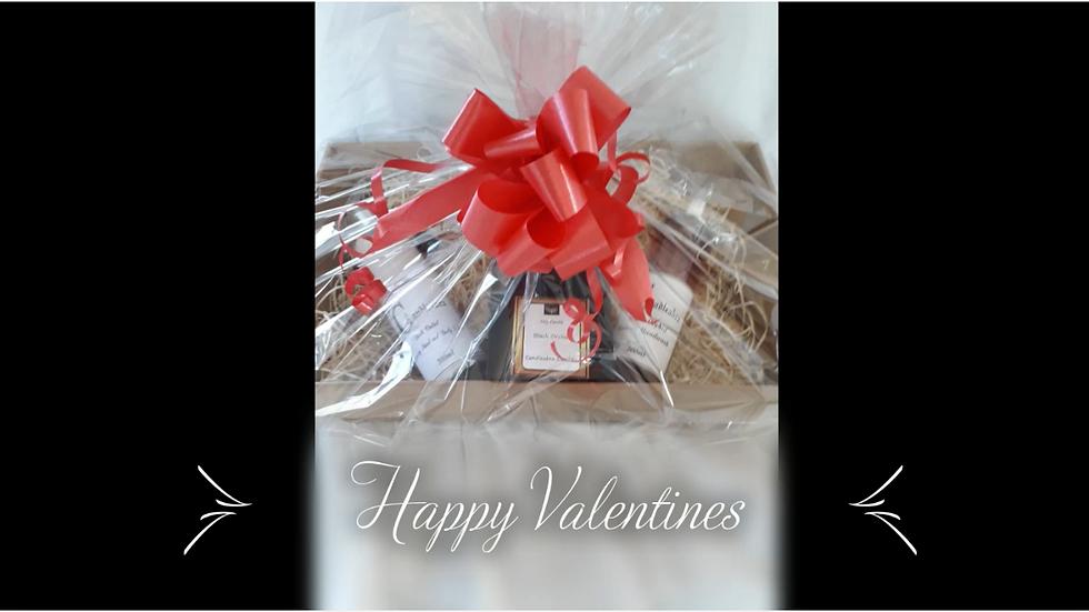 Valentines Luxury Basket
