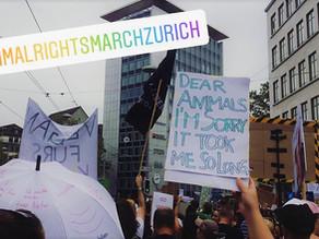 Animal Rights March 2019 à Zurich