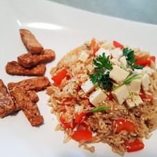 RISOTTO ET TEMPEH