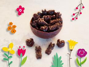 BOLS EN CHOCOLAT GARNIS