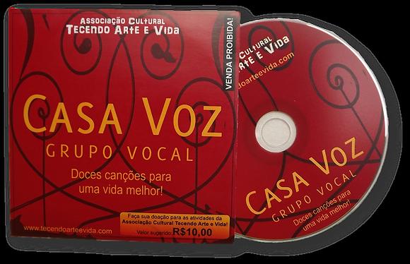 Cd do Grupo Vocal Casa Voz
