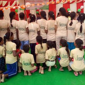Vriddhi celebrates Independence Day